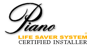 Piano Life Saver Certified Installer Logo